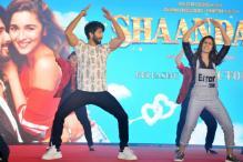 Why did Alia Bhatt cry while dancing with Shahid Kapoor in 'Shaandaar'?