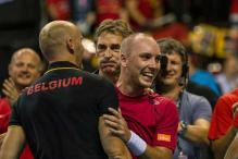 Belgium beat Argentina to reach 1st Davis Cup final in 111 years