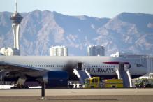 British Airways flight catches fire on Las Vegas runway, all 172 on board safe
