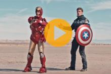 Watch: What happens when Captain 'iPhone 6s' America battles Iron 'Galaxy S6' Man