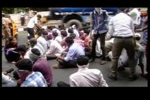 Students protest against authorities after dress code diktat in Chennai