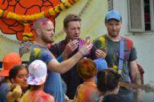 Chris Martin was in India again. This time to shoot a video in Mumbai with rest of Coldplay