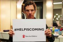 Help is coming: Benedict Cumberbatch fronts Syria refugee appeal in video