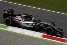 Force India impressive at Italian Grand Prix practice session