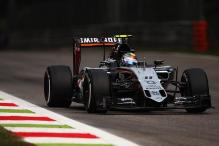 Force India back in top 5 with double points finish at Italian Grand Prix