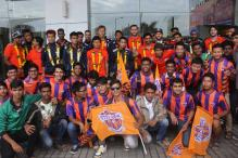 In pics: FC Pune City squad arrives in Pune from pre-season