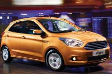 The new Ford Figo hatchback launched in India at Rs 4.29 lakh onwards