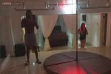 Chris Gayle hits another six by setting up a strip club at home