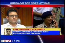 Gurgaon Police Commissioner tried to interfere in a harassment case probe, alleges top police officer