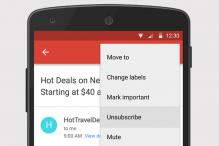 Gmail for Android gets 'Unsubscribe' feature; now easier for you to get rid of unwanted emails