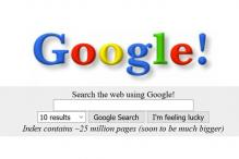 Google.com enters adulthood, turns 18