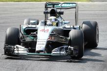 Lewis Hamilton fastest in 1st practice as Mercedes dominate at Italian Grand Prix