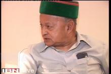 CBI raid Himachal CM Virbhadra Singh's residence in Shimla