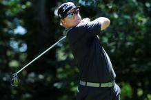 Charley Hoffman leads as Jordan Spieth misses cut at Deutsche Bank Championship