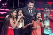 'Welcome Back' stars encourage 'Indian Idol Junior' contestants