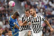Struggling Juventus take on in-form Manchester City in Champions League