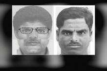 Sketches of two suspects who gunned down Kalburgi released
