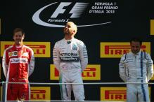In pics: Lewis Hamilton takes Italian GP victory at Monza
