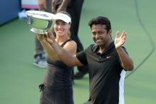 In pics: Leander Paes, Martina Hingis lift US Open 2015
