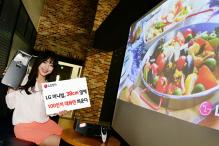 LG Minibeam PF1000U projector can beam a 100-inch screen from only 15 inches away