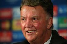 Louis Van Gaal says draw would be good for United in Moscow
