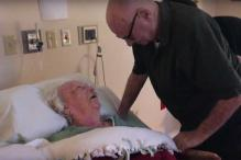 This video of a 92-year-old man serenading his dying wife with a love ballad redefines true love