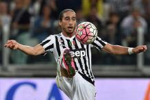Juventus suspended defender Martin Caceres for alleged drink-driving