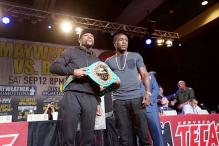Andre Berto 'on a mission' to unseat Floyd Mayweather