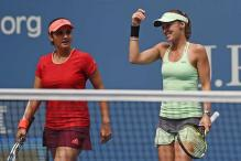 Sania Mirza-Martina Hingis reaches semi-finals of Guangzhou event