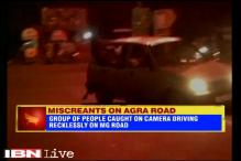 Agra: Miscreants arrested for driving recklessly, doing stunts