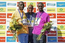 Mo Farah holds off Kenyan duo to win Great North Run