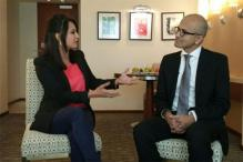 Exclusive interview with Satya Nadella: 'Modi's vision is absolutely right, he is pushing the right agenda'