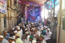 Incredible India! A Ganpati pandal in Mumbai offers space to Muslim brothers to offer namaz