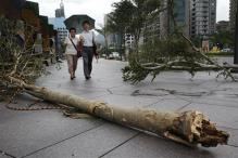 Typhoon Mujigae hits China; tens of thousands evacuated