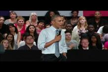 Watch: Barack Obama's advice for his college bound daughter Malia