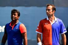 I am playing against one of my brothers, Radek Stepanek: Leander Paes