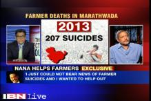 I just could not bear the news of farmer suicides and wanted to help: Nana Patekar