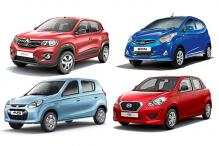 Spec comparison: Renault Kwid vs Maruti Suzuki Alto 800 vs Hyundai Eon vs Datsun Go
