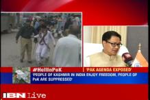 Pakistan's agenda has been exposed, says MoS Home Affairs Kiren Rijiju
