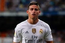 Real Madrid's James Rodriguez trashes 'unfit' rumours