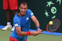 Davis Cup: Rosol tames Yuki Bhambri in straight sets to give Czech Republic 1-0 lead