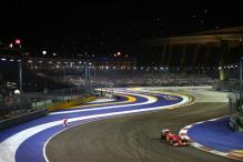 Track intruder sets pulses racing at Singapore GP