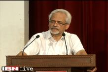 St Stephens session II: Principal Valson Thampu speaks on 'Richness of life'