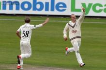 County Championship: Curran brothers in 10-wicket Surrey sweep