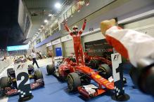 Ferrari's Sebastian Vettel wins Singapore Grand Prix to liven up F1 title fight