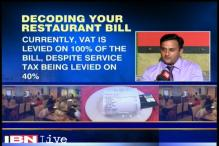 VAT for food items and drink are different: Experts