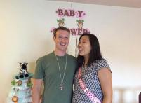 Mark Zuckerberg and his wife Priscilla get a cute and an intimate baby shower from his students