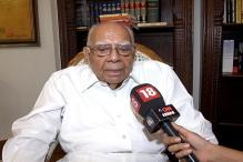Executive should have no role in appointment of judges: Ram Jethmalani