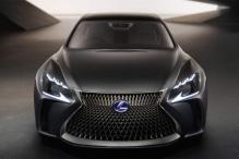 Lexus shows off hydrogen fuel cell-powered LF-FC concept sedan