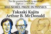 Japan's Takaaki Kajita and Canada's Arthur B McDonald win Nobel Physics Prize 2015
